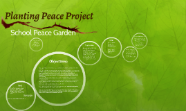Planting Peace Project
