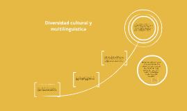 Copy of Diversidad cultural y multilinguistica