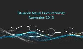 Situación Actual Huehuetenango