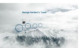 Copy of George Herbert's Love