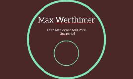 Max Werthimer