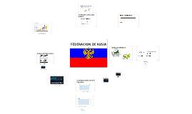 Copy of FEDERACION DE RUSIA