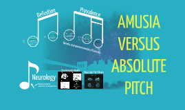 AMUSIA VERSUS PERFECT PITCH