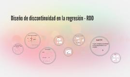 Clase 6: Diseño de discontinuidad en la regresión - RDD