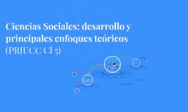 Ciencias Sociales (PRIUCC Cl5)