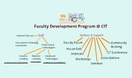 CIT FDP Intro