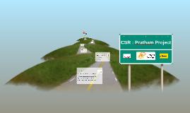 CSR : Pratham Project