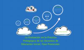 Copy of Evaluación en Educación Inicial
