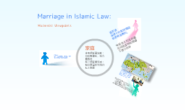 Marriage in Islamic Law: Modernist Viewpoints