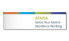 Afaria Marketing analysis - Summary