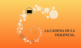 LA CADENA DE LA VIOLENCIA.