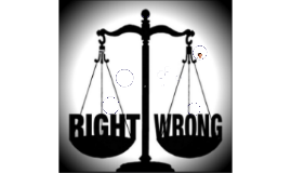What is Right/ Wrong?