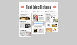 Copy of Copy of Think Like a Historian