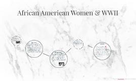 African American Women & WW2