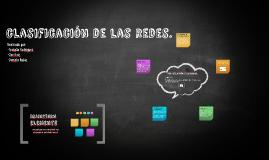clasificación de las redes.