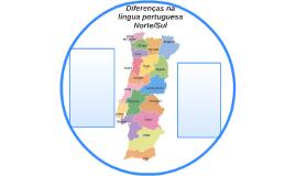 Diferenças da língua portuguesa Norte/Sul