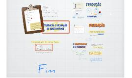 O processo de tradução e validação de instrumentos de análise