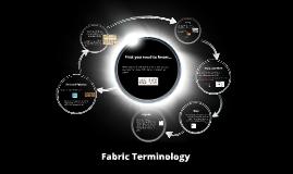 Fabric Terminology
