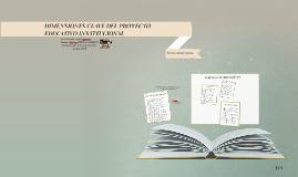 DIMENSIONES CLAVE DEL PROYECTO EDUCATIVO INSTITUCIONAL
