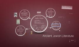 Ancient Jewish Literature