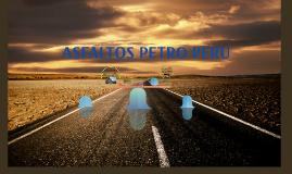 ASFALTOS PETRO PERU
