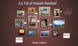 La Vie d'Amani Rashad