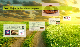 Behavior Management: Major vs. Minor