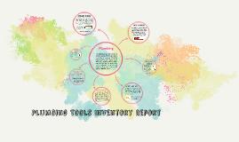 Plumbing Tools Inventory Report