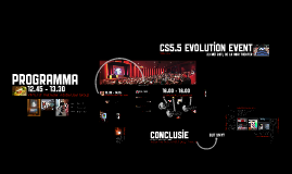 Adobe CS5.5 evolution event