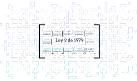 Copy of Ley 9 de 1979