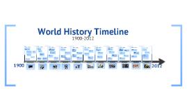 Copy of World History Timeline