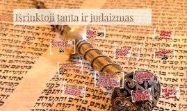 Išrinktoji tauta ir judaizmas