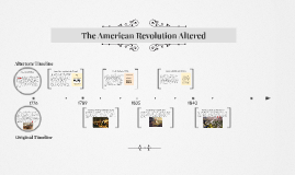 The American Revolution Altered