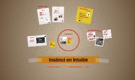 Instinct en Intuïtie