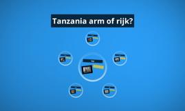 Tanzania arm of rijk?