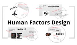 Human Factors Design
