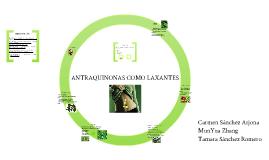ANTRAQUINONAS COMO LAXANTES