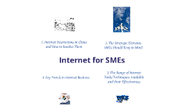 Making effective use of internet tools / solutions to better promote your business in China