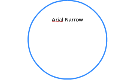 Copy of Arial Narrow