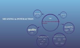 3.5 The four conversational maxims