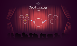 The function of food analogs