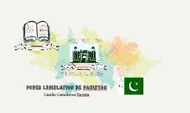 Poder legislativo de pakistán