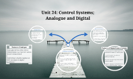 Analogue and Digital Control Systems