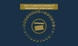 La época de la sinrazón: El Romanticismo.