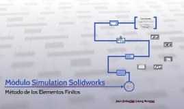 Módulo Simulation Solidworks