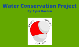 Copy of Copy of Water Conservation Mini Project