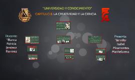 Copy of CAPÍTULO 8. LA CREATIVIDAD Y LA CIENCIA