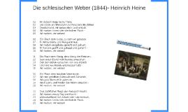 Die schlesischen Weber (1844)- Heinrich Heine