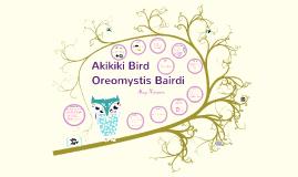 Copy of Akikiki Bird S+E
