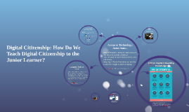 Digital Citizenship for the Junior Learner